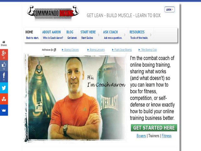 Commando Boxing Online Boxing Club