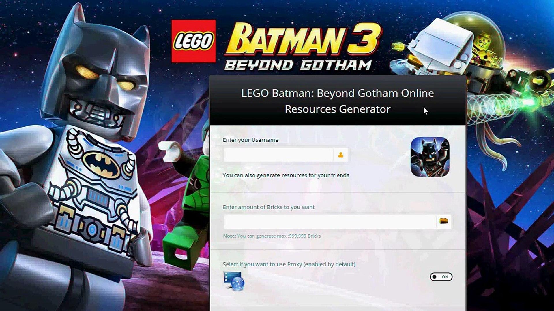 LEGO Batman 3 Beyond Gotham Crate of Bricks Cheats iOS Android