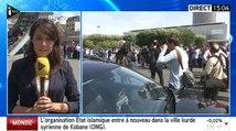 Une journaliste de I>Télé pris à partie par des chauffeurs de taxis - ZAPPING ACTU DU 26/06/2015
