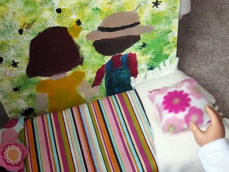 DIY American Girl Doll Room