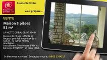 A vendre - maison - LA MOTTE EN BAUGES (73340) - 5 pièces - 81m²