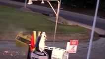 Ramp Jumps, Flips, and Two Wheel Driving. Beech Ridge Car Wars.