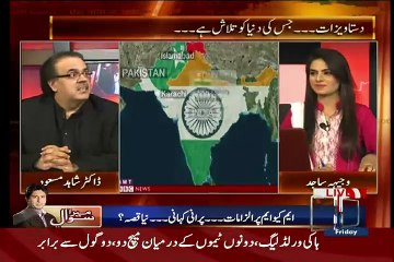Live With Dr. Shahid Masood  – 26th June 2015