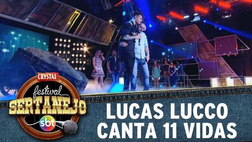 Lucas Lucco canta 11 Vidas