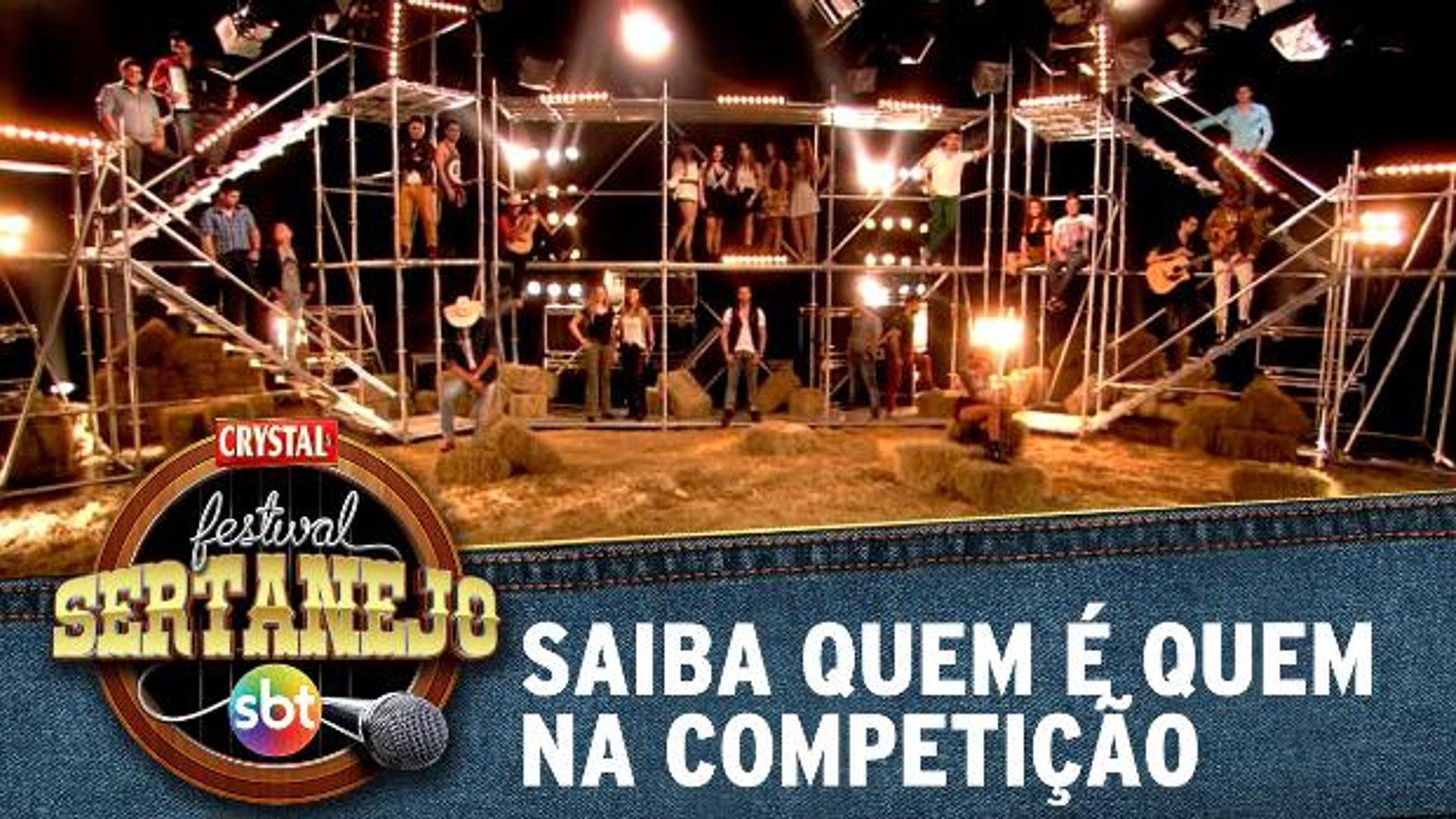 Festival Sertanejo SBT: Conheça quem são os participantes