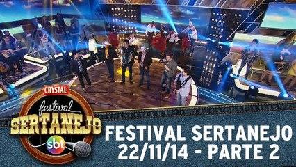 Festival Sertanejo SBT - PARTE 2