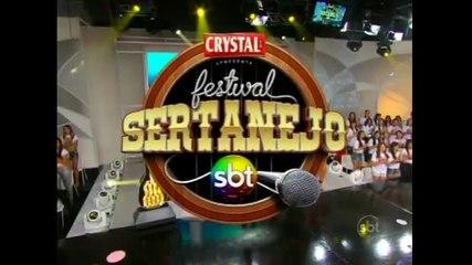 Íntegra Festival Sertanejo SBT - 07/09/13 - Parte 3