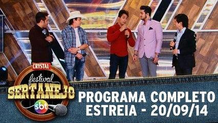 Festival Sertanejo SBT - Estreia