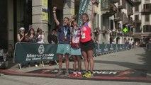 80km - Arrivées Femmes - Chamonix Marathon du Mont-Blanc 2015