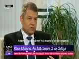 Klaus Iohannis - INTERVIU in limba germana (subtitrat). Am fost convins că voi câştiga alegerile