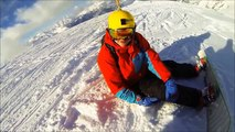 Snowboarding in France - Les 2 Alpes - GoPro HD - 2014