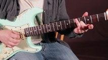 Stevie Ray Vaughan - SRV - Guitar Lesson - Soloing w Open Strings w Licks