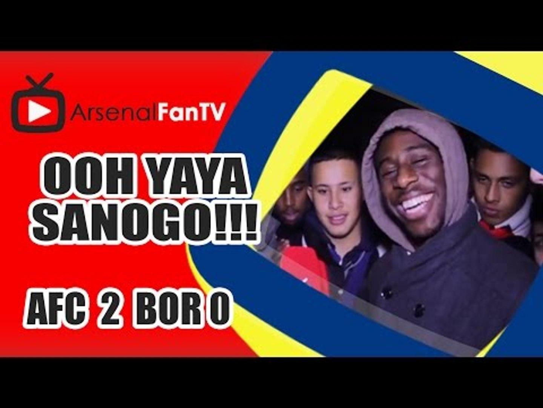 Ooh Yaya Sanogo!!! - Arsenal 2 Borussia Dortmund 0