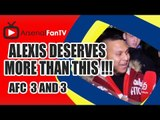 Alexis Deserves More Than This - Arsenal 3 Anderlecht 3