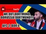 We Out Dortmund, Borussia Dortmund!!! - Arsenal 2 Borussia Dortmund 0