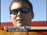 Able Flight, Paraplegic pilot, hand controls for paraplegic pilots, Paradise Aircraft