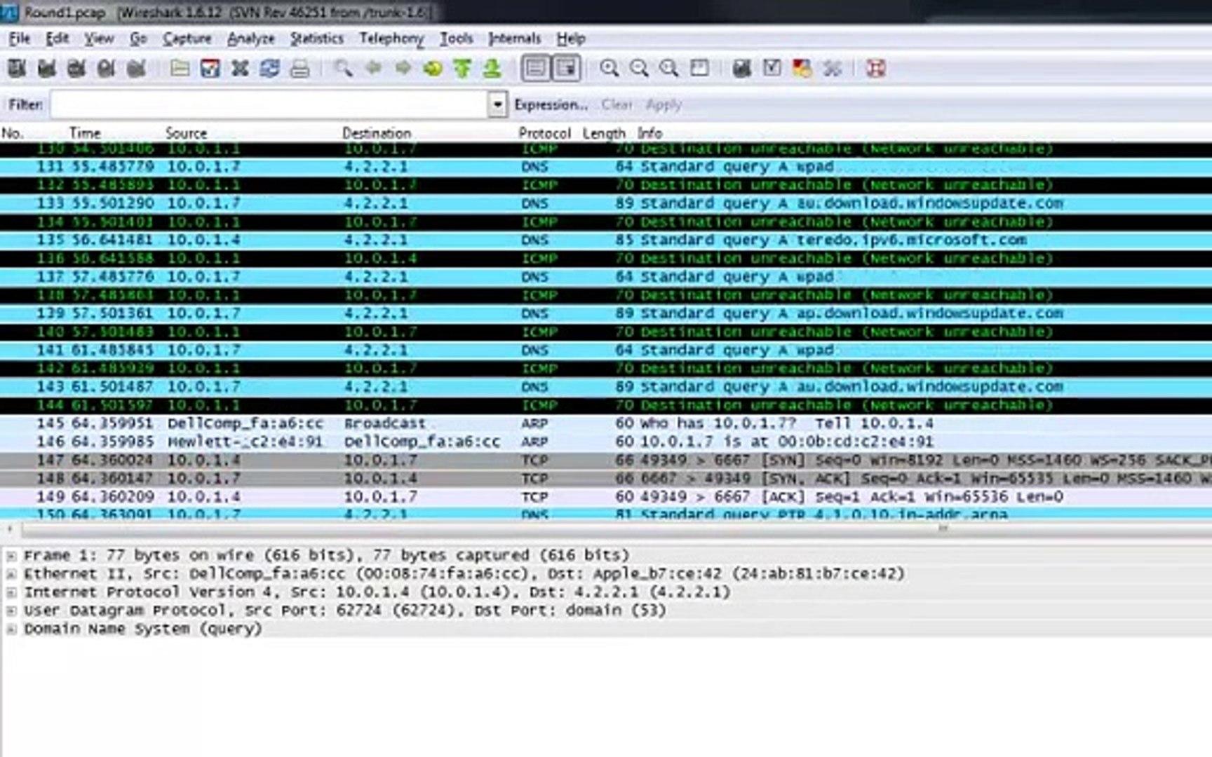 Cyber Hui Forensics Training - Lab 3: Network Forensics/PCAP Analysis