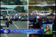 Vigilantes denuncian agresión verbal mientras cumplían su trabajo