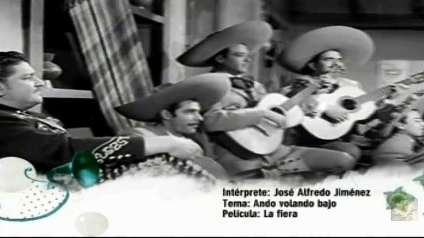 """José Alfredo Jiménez """"Tu y Las Nubes"""" (video clip from 'La Fiera')"""