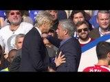 Arsenal Fans React To Wenger v Mourinho Push (Explicit Language)