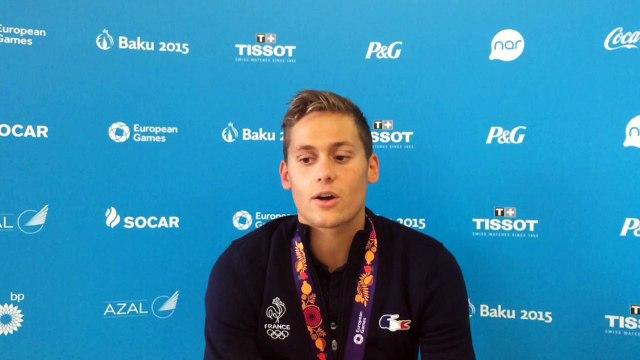 Nicolas D'Oriano - médaille d'or natation 800m nage libre
