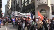 """Los funcionarios uruguayos piden en un paro de 24 horas un """"presupuesto digno"""""""