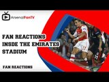 Gooners Mock Besiktas Ultras - Arsenal 1 Besiktas 0 (Gooner Cam).