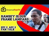 Aaron Ramsey is our Frank Lampard - Everton 2 Arsenal 2