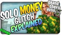 *NEW* GTA 5 SOLO MONEY GLITCH (Explained)! Patch 1.25/1.27 (GTA 5 MONEY 1.27) (GTA 5 glitches) PS4 + XBOX ONE