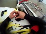 Windsurfing Hero GoPro 5 Camera test forward loop, back loop attempts.
