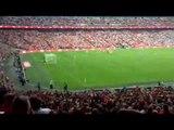 Fans Sing Na Na Giroud After His Un Real Goal At Wembley