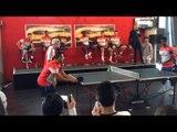 Alexis Sanchez vs Gedion Zelalem At Table Tennis