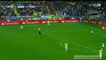 Argentina and Tévez again Goal Line Chance - Argentina v. Colombia 26.06.2015