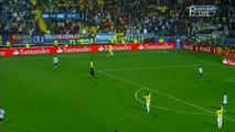 Carlos Tévez big chance but Murillo Fantastic goal line save | Argentina v. Colombia 26.06.2015