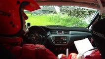 Deividas Jocius (Mitsubishi Lancer EVO IX) - Spin and crash (Saulės Ralis 2010)