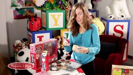 Melissa & Doug Slice and Bake Cookie Play Set