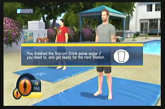 Wii Workouts – The Biggest Loser Challenge – Workout
