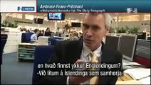 Ambrose Evans-Pritchard blaðamaður um Ísland - júní 2008