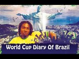 World Cup Diary Of Brazil - Hanging with Argentina and Colombian Fans