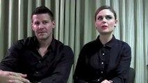 Emily Deschanel & David Boreanaz interview: Bones S9 Premiere post mortem