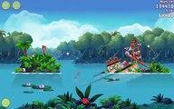 Angry Birds Rio Blossom River 3 star Walkthrough (Not a Copy) Level 1 to Level 20, Bonus 30, 40, 50