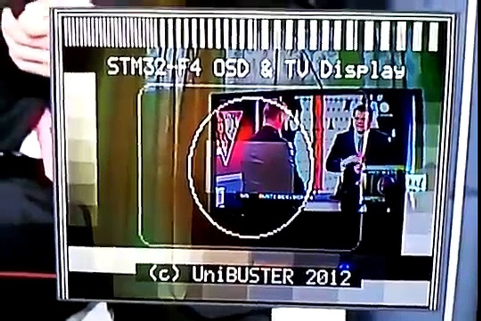 OSD & TV DISPLAY on STM32 F4 Discovery + Free RTOS