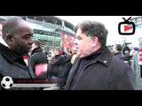 Black Scarf Movement March - Interview With Arsenal Fans -Arsenalfantv.com