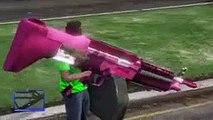 Hackers En GTA V Online #25 - Consolador, Volar Como Superman, Armas Gigantes y Más - MOD Hack GTA 5