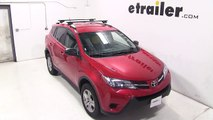 Installation of the Thule Crossroad Roof Rack on a 2013 Toyota RAV4 - etrailer.com