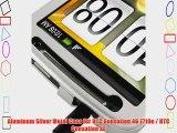 Aluminum Silver Metal Case for HTC Sensation 4G Z710e / HTC Sensation XE