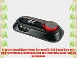 Creative Sound Blaster Omni Surround 5.1 USB Sound Card with High Performance Headphone Amp