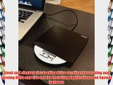 External USB 2.0 Black Slot-Loading 8X DVD and CD Burner Writer Player Slim DVD RW   Double/Dual-Layer
