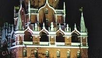 3/7 Tourisme en Russie Visiter Moscou Admirez la muraille du Kremlin -- Tourism in Russia Visit Moscow Admire the Kremlin wall -- Tourismus in Russland Besuchen sie Moskau Bewundern Sie die Kreml-Mauer --  посетить Москву Полюбуйтесь кремлевскую стену