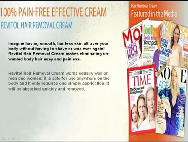 The Best Hair Removal Cream Reviews Free Revitol Hair Removal